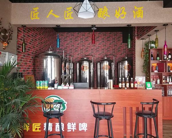 沧州啤酒设备加盟案例